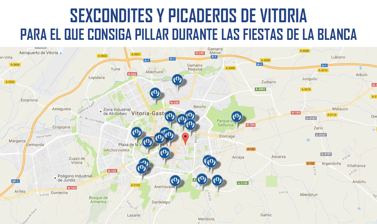 20 picaderos para las fiestas de La Blanca en Vitoria-Gazteiz